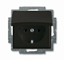 Розетка ABB Basic 55 20EUK-95-507