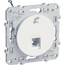 Schneider-Electric Odace Розетка RJ12 S52R497