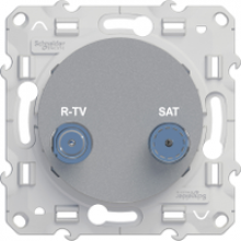 Розетка Schneider-Electric Odace  TV/SAT S53R455