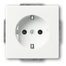 ABB Dynasty розетка белый 2011-0-6207