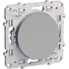 Выключатель Schneider-Electric Odace   алюминий  S53R201